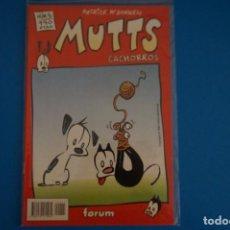 Cómics: COMIC DE MUTTS CACHORROS AÑO 1999 Nº 5 DE FORUM LOTE 18 F. Lote 221124632
