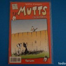 Cómics: COMIC DE MUTTS CACHORROS AÑO 1999 Nº 3 DE FORUM LOTE 18 F. Lote 221124750