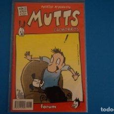 Cómics: COMIC DE MUTTS CACHORROS AÑO 1999 Nº 2 DE FORUM LOTE 18 F. Lote 221124832