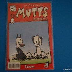 Cómics: COMIC DE MUTTS CACHORROS AÑO 1999 Nº 1 DE FORUM LOTE 18 F. Lote 221124861