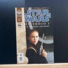 Cómics: STAR WARS 4 EPISODIO 1 LA AMENAZA FANTASMA EXCELENTE ESTADO - PLANETA. Lote 221136492