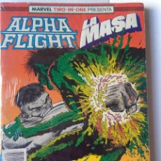 Cómics: MARVEL TWO IN ONE ALPHA FLIGHT LA MASA 51-52-53. Lote 221255412