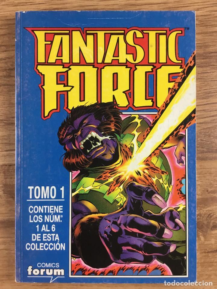 FANTASTIC FORCE TOMO 1 - SERIE LIMITADA COMPLETA 6 NÚMEROS RETAPADOS (Tebeos y Comics - Forum - Prestiges y Tomos)