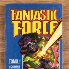 Cómics: FANTASTIC FORCE TOMO 1 - SERIE LIMITADA COMPLETA 6 NÚMEROS RETAPADOS. Lote 221283537