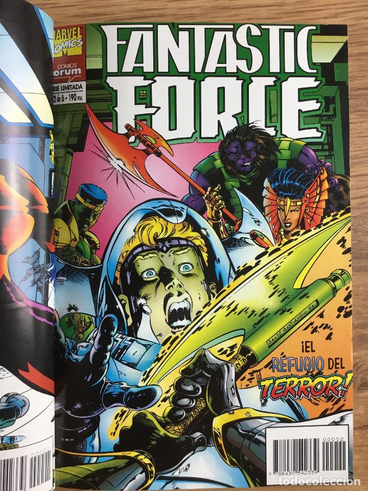 Cómics: FANTASTIC FORCE Tomo 1 - Serie Limitada completa 6 Números retapados - Foto 3 - 221283537