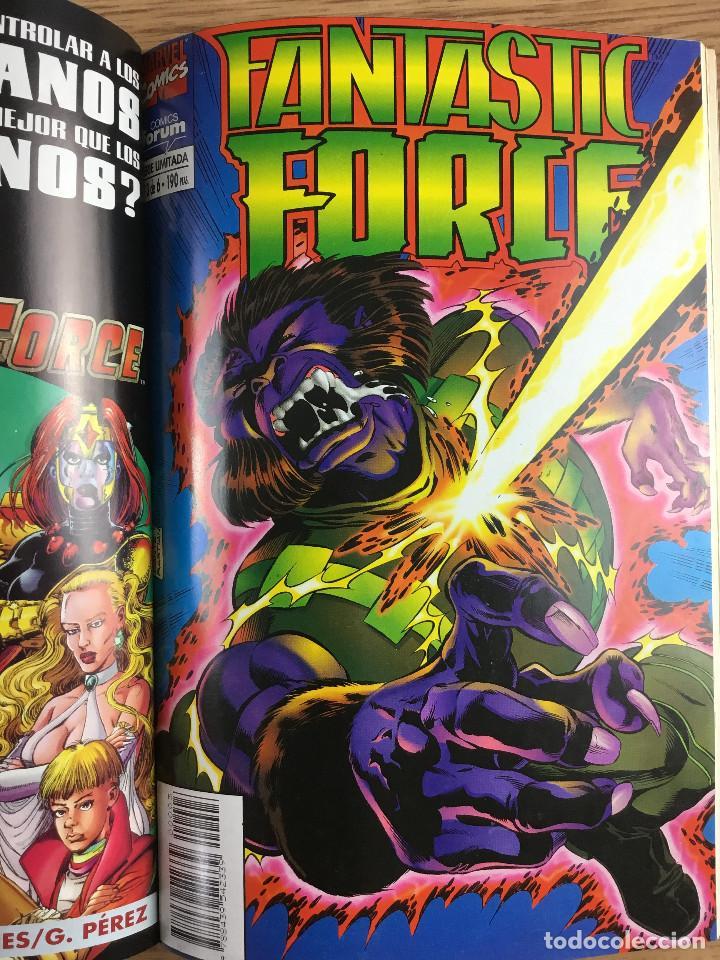 Cómics: FANTASTIC FORCE Tomo 1 - Serie Limitada completa 6 Números retapados - Foto 4 - 221283537