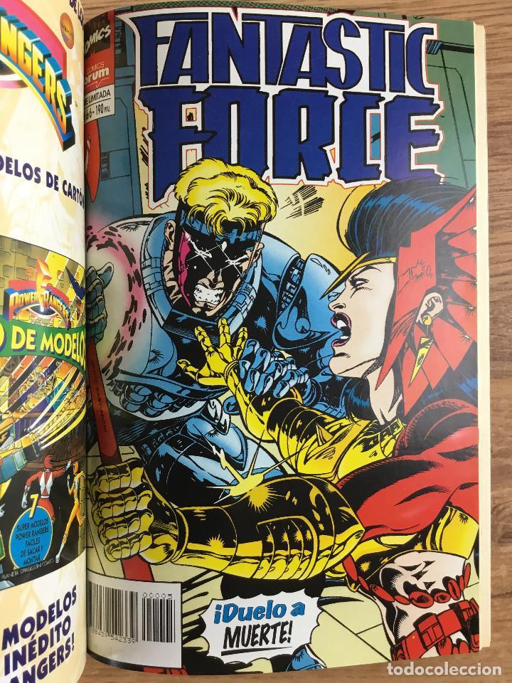 Cómics: FANTASTIC FORCE Tomo 1 - Serie Limitada completa 6 Números retapados - Foto 6 - 221283537