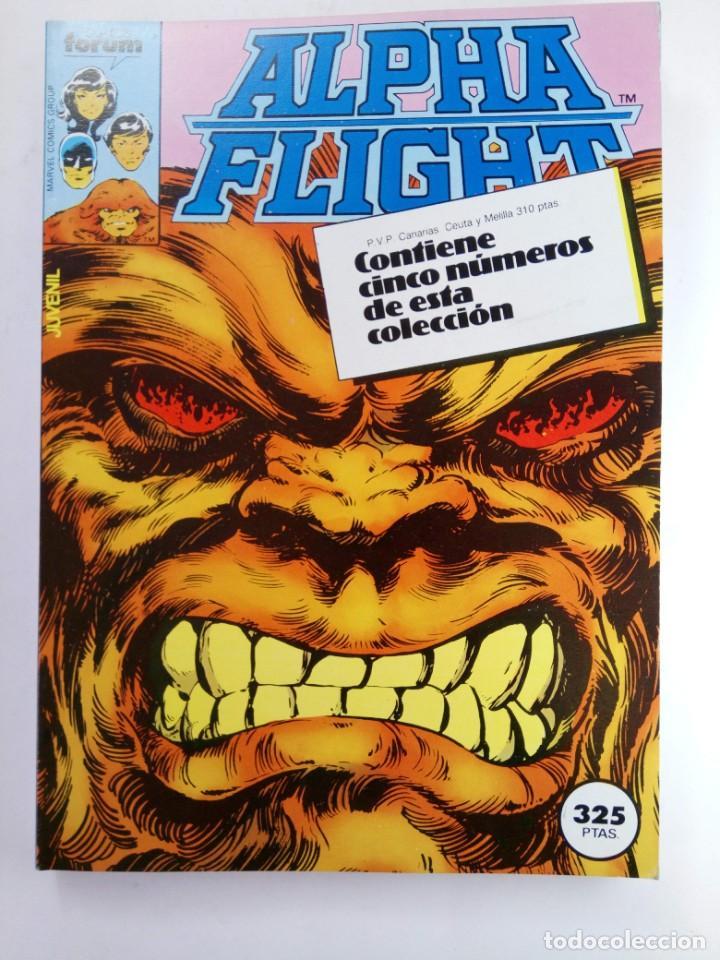 ALPHA FLIGHT - RETAPADO, CONTIENE CINCO NUMEROS DEL 6 AL 10 - FORUM (SIN USAR) (Tebeos y Comics - Forum - Alpha Flight)