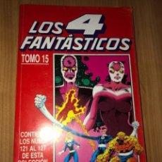 Cómics: LOS 4 FANTÁSTICOS TOMO 15 NÚMEROS Nº121-127 - COMICS FORUM. Lote 221338813