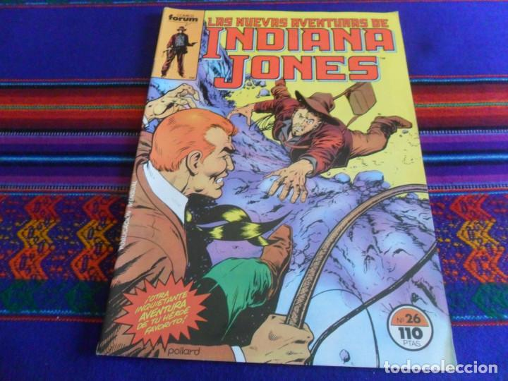 FORUM VOL. 1 LAS NUEVAS AVENTURAS DE INDIANA JONES Nº 26 Y ÚLTIMO. REGALO Nº 21. 1985. 100 PTS. (Tebeos y Comics - Forum - Otros Forum)