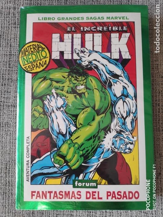 HULK GRANDES SAGAS MARVEL 2 TOMOS COMICS FORUM (Tebeos y Comics - Forum - Hulk)