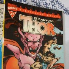 Cómics: THOR Nº 37 ULTIMO BIBLIOTECA MARVEL EXCELSIOR FORUM 2001 TACO. Lote 221418910