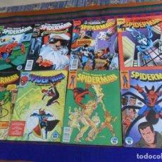 Cómics: FORUM VOL. 1 SPIDERMAN NºS 3 42 70 91 158 162 CON LOBEZNO WOLVERINE 164 165. 1983. 85 PTS. BE.. Lote 221437651