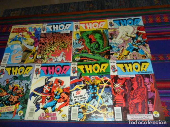 FORUM VOL.1 THOR 17 19 20 21 27 28 30 52 CON CAPITÁN AMÉRICA. 95 PTS. 1983. (Tebeos y Comics - Forum - Thor)