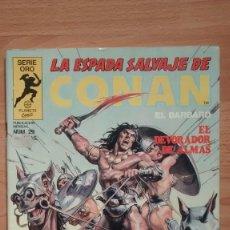Fumetti: LA ESPADA SALVAJE DE CONAN 29 SERIE ORO - POSIBILIDAD DE ENTREGA EN MANO EN MADRID. Lote 221438443