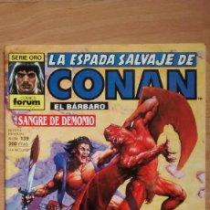 Cómics: LA ESPADA SALVAJE DE CONAN 139 SERIE ORO - POSIBILIDAD DE ENTREGA EN MANO EN MADRID. Lote 221438698