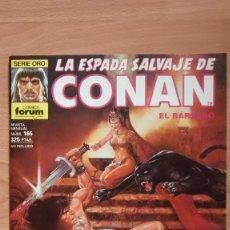 Fumetti: LA ESPADA SALVAJE DE CONAN 165 SERIE ORO - POSIBILIDAD DE ENTREGA EN MANO EN MADRID. Lote 221438815