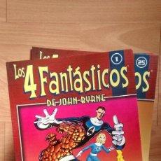 Cómics: COLECCIONABLE LOS 4 FANTASTICOS DE JOHN BYRNE COMPLETA - POSIBILIDAD DE ENTREGA EN MANO EN MADRID. Lote 221439016