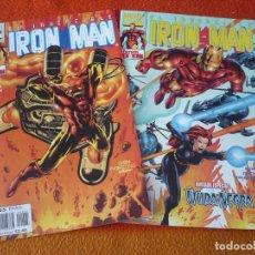 Cómics: IRON MAN VOL. 4 NºS 5 Y 6 ( BUSIEK CHEN ) ¡BUEN ESTADO! FORUM MARVEL. Lote 221441080