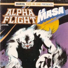 Cómics: ALPHA FLIGHT & LA MASA (MARVEL TWO IN ONE) NÚMERO 41 (FORUM). Lote 221452803