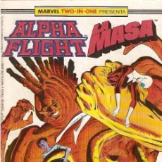 Cómics: ALPHA FLIGHT & LA MASA (MARVEL TWO IN ONE) NÚMERO 43 (FORUM). Lote 221452896