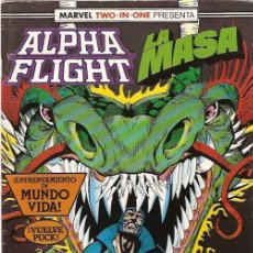 Cómics: ALPHA FLIGHT & LA MASA (MARVEL TWO IN ONE) NÚMERO 50 (FORUM). Lote 221452991