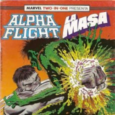 Cómics: ALPHA FLIGHT & LA MASA (MARVEL TWO IN ONE) NÚMERO 51 (FORUM). Lote 221453081