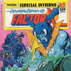 Cómics: FACTOR X ESPECIAL INVIERNO 1989 (ATLANTIS ATACA) FORUM. Lote 221459485