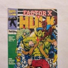 Cómics: COLECCION SERIES LIMITADAS VOL. 1 # 19 (FORUM) - HULK Y FACTOR-X # 2. Lote 221517473