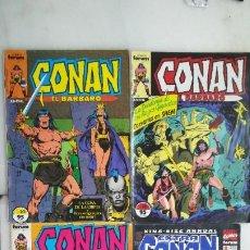 Cómics: CUATRO CONAN EL BARBARO, FORUM. Lote 221586088