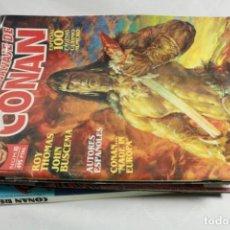 Cómics: LOTE DE 25 COMICS DE CONAN REY Y LA ESPADA SALVAJE DE CONAN. Lote 221595127