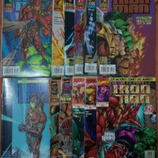 Cómics: IRON MAN HEROES REBORN 01 A 12 (COMPLETA). FORUM. Lote 221627360