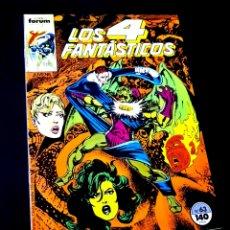 Cómics: DE KIOSCO LOS 4 FANTASTICOS 63 FORUM. Lote 221636955