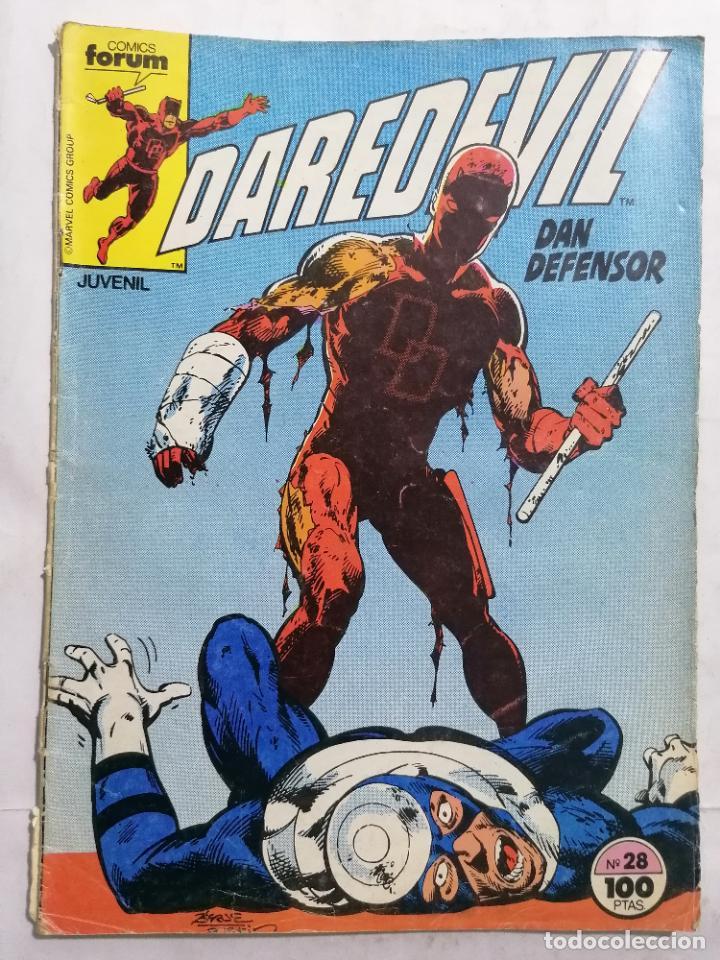 DAREDEVIL - DAN DEFENSOR, Nº 28, COMICS FORUM (Tebeos y Comics - Forum - Daredevil)