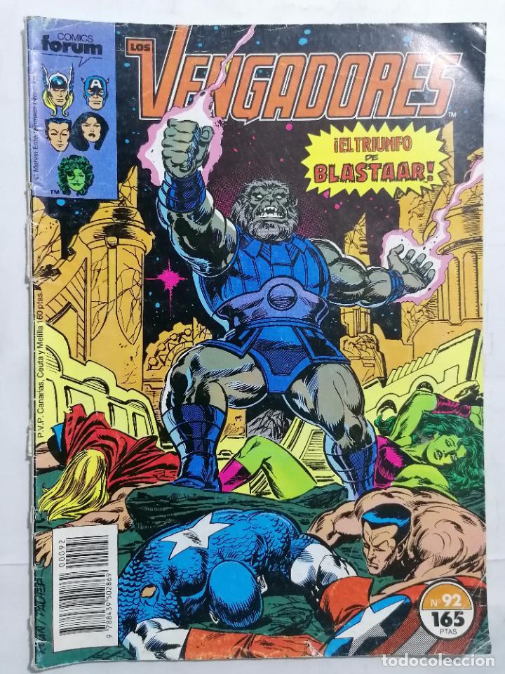 LOS VENGADORES, Nº 92, COMICS FORUM (Tebeos y Comics - Forum - Vengadores)