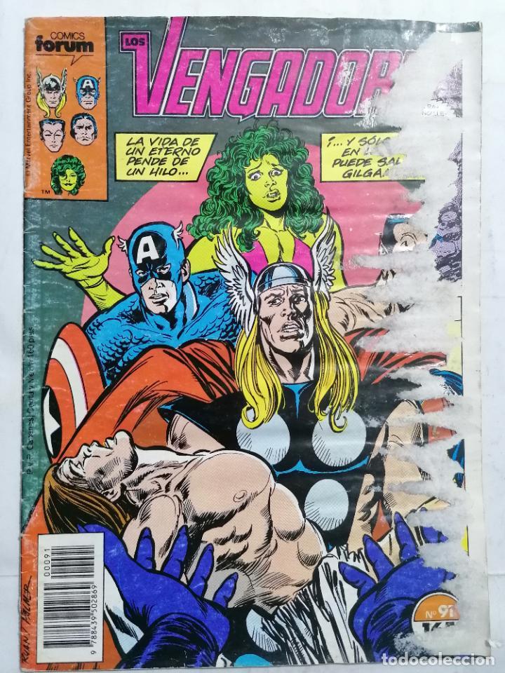 LOS VENGADORES, Nº 91, COMICS FORUM (Tebeos y Comics - Forum - Vengadores)