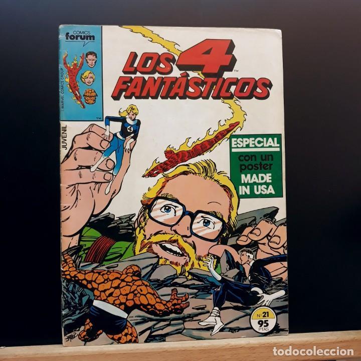 LOS 4 FANTÁSTICOS Nº 21 FORUM MARVEL 1984 (Tebeos y Comics - Forum - 4 Fantásticos)