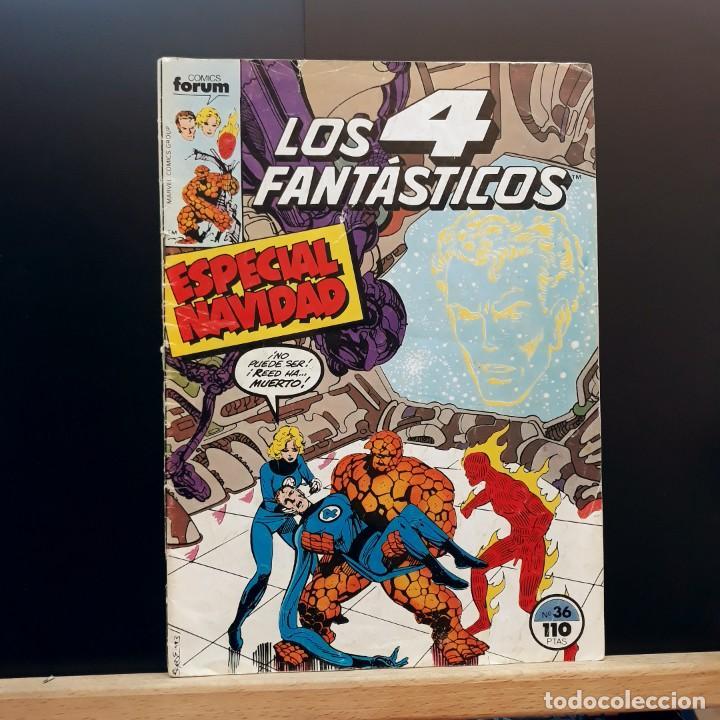 LOS 4 FANTÁSTICOS Nº 36 ESPECIAL NAVIDAD FORUM 1983 (Tebeos y Comics - Forum - 4 Fantásticos)
