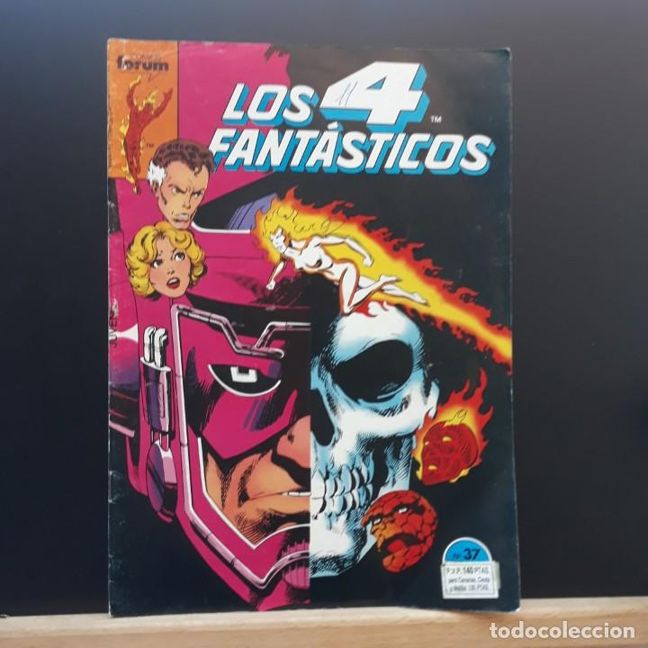 LOS 4 FANTÁSTICOS Nº 37 FORUM MARVEL (Tebeos y Comics - Forum - 4 Fantásticos)