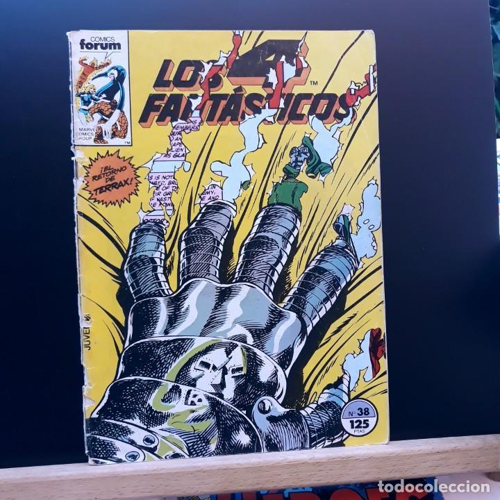LOS 4 FANTÁSTICOS Nº 38 FORUM MARVEL 1986 (Tebeos y Comics - Forum - 4 Fantásticos)