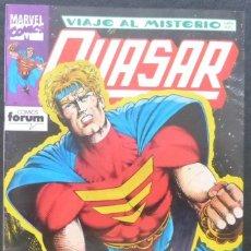 Cómics: COMIC QUASAR,VIAJE AL MISTERIO, 1993,NUMERO 7,MARVEL,COMICS,FORUM.. Lote 221710352