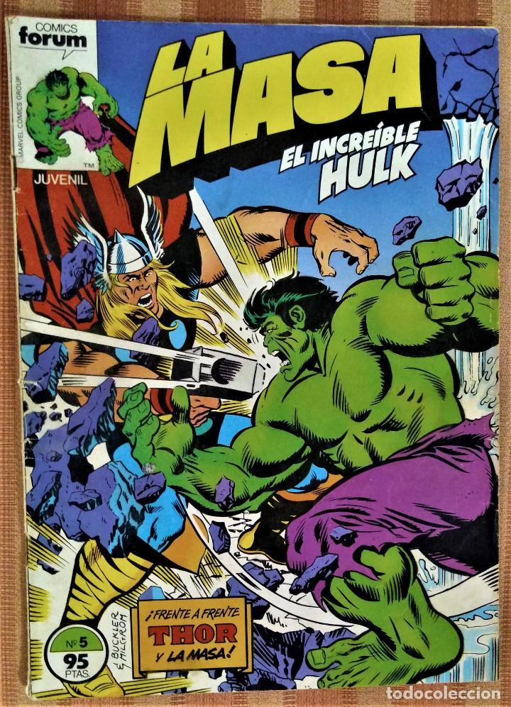 LA MASA - EL INCREIBLE HULK - COMICS FORUM - Nº 5 (Tebeos y Comics - Forum - Hulk)