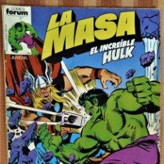 Cómics: LA MASA - EL INCREIBLE HULK - COMICS FORUM - Nº 5. Lote 221712556