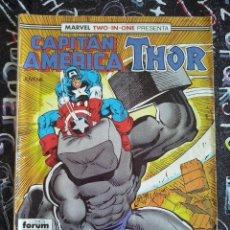 Cómics: FORUM - CAPITAN AMERICA / THOR VOL.1 NUM. 53. Lote 221762028