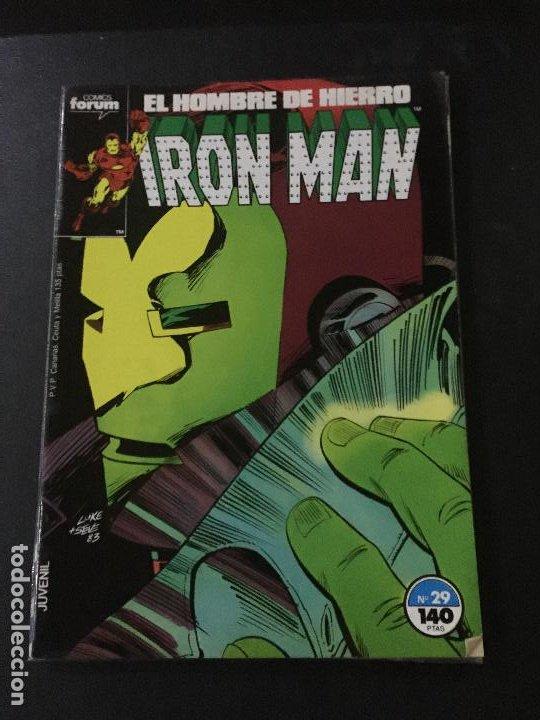 FORUM IRON MAN NUMERO 29 BUEN ESTADO (Tebeos y Comics - Forum - Iron Man)