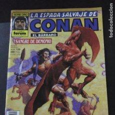 Cómics: FORUM LA ESPADA SALVAJE DE CONAN NUMERO 139 BUEN ESTADO. Lote 221776747