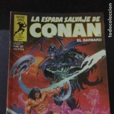 Cómics: FORUM LA ESPADA SALVAJE DE CONAN NUMERO 30 NORMAL ESTADO. Lote 221776902