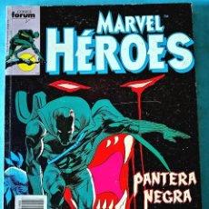 Cómics: PANTERA NEGRA - MARVEL HÉROES - RETAPADO (DEL 45 AL 49) ''MUY BUEN ESTADO'' (FOTOS). Lote 221785785