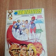 Cómics: MARVEL LOS 4 FANTASTICOS - FANTASTIC FOUR. CONTRA LOS 4 TEMIBLES Nº 18. Lote 221807463