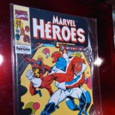 Cómics: MARVEL HEROES 61 PRIMERA EDICION FORUM. Lote 221884480